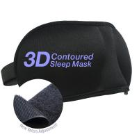 Quality Beauty 2 Pack Velcro Band 3-D Eye Mask for sale