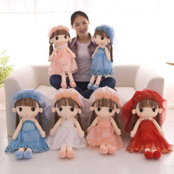 Buy China Festival Gift Plush Doll Toy at wholesale prices