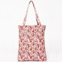 China Women's Full Printing Canvas Tote Bag on sale
