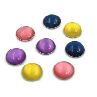 Quality Cat's Eye Iron on Cabochons for sale