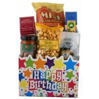 Quality Children's & Baby's Gifts Happy Birthday Gourmet Gift Basket for sale