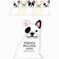 Quality Children's & Baby's Gifts French Bulldog Memo Pad for sale