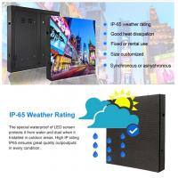 Buy cheap p7.81 p8 p10 fixed /rental outdoor big comercial advertising led display panel nova system from wholesalers