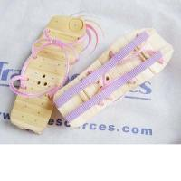 China Fashionable sandals for female made of bamboo on sale
