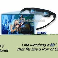 Quality Portable LCD TV Eyewear,Virtual Vision Video Glasses Goggles for sale