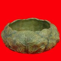 Best Round Water Lily Leaf Shape Bowl, Archaic Indoor Home Kitchen Livingroom Decoration Furniture Bowl, Resin Resinic Polyresin Crafts Sculpture Statuary Souvenir wholesale